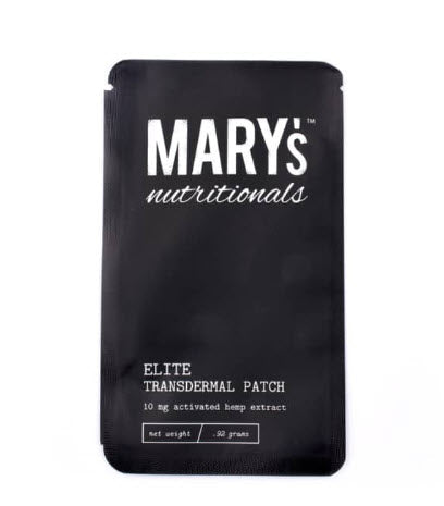 Mary's Elite Transdermal Patch  Latex-Free