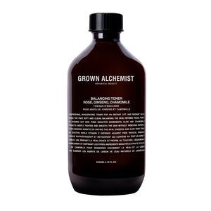 Grown Alchemist Tonique équilibrant teint - Rose absolue, Ginseng & Camomille - Liquides Confidentiels