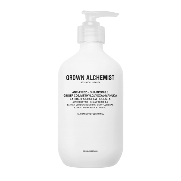 Grown Alchemist Shampoing anti-frisottis - Gingembre & Manuka - Liquides Confidentiels