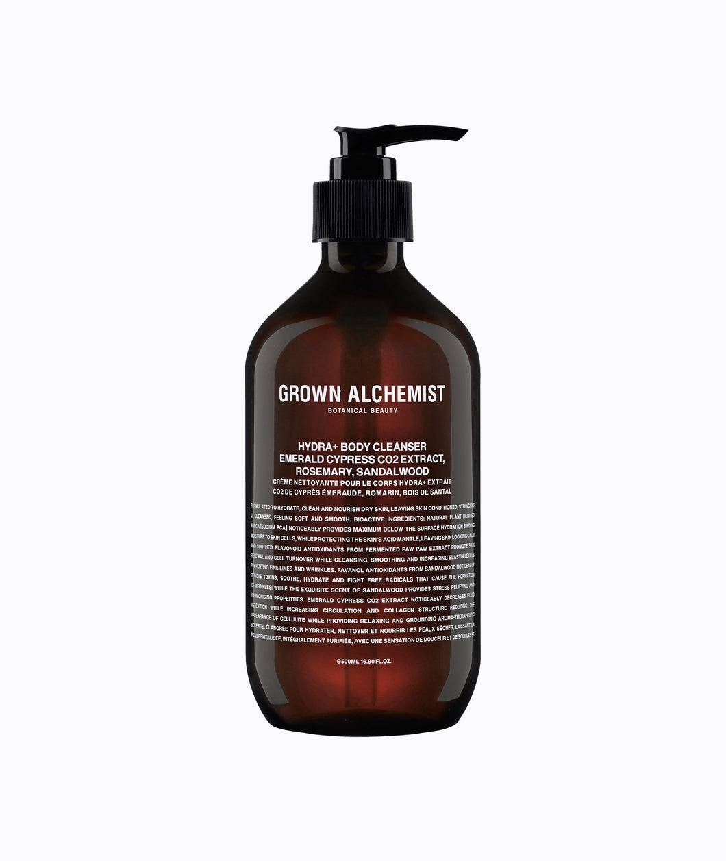 Grown Alchemist - Gel douche hydratant Hydra+ Body Cleanser - Liquides Confidentiels