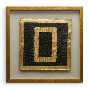Riva - Golden Squares - Rectangle