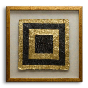 Riva - Golden Squares - Square