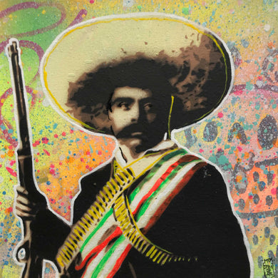 Zapata con Rifle