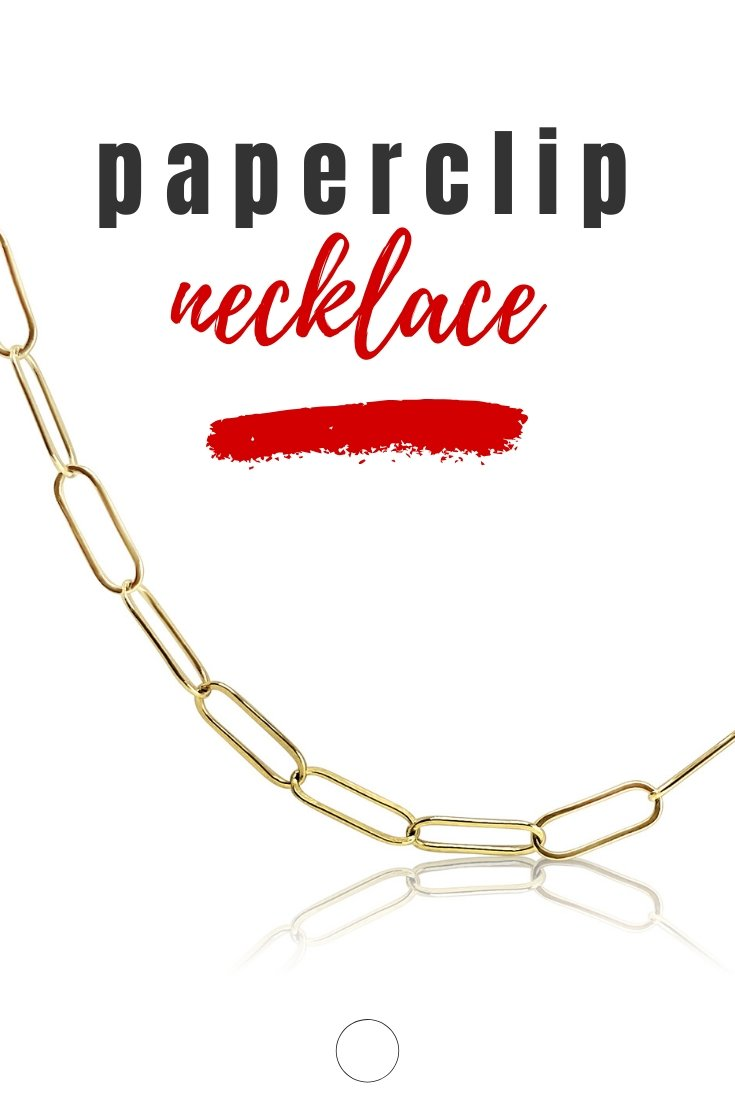 paperclip jewelry chain