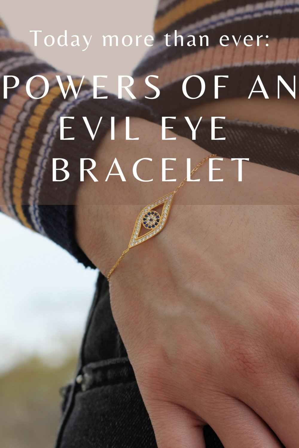 powers of an evil eye bracelet covid19