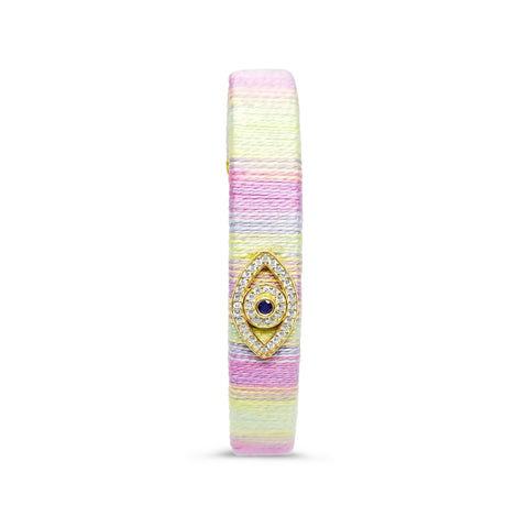 pastel bangle with eye