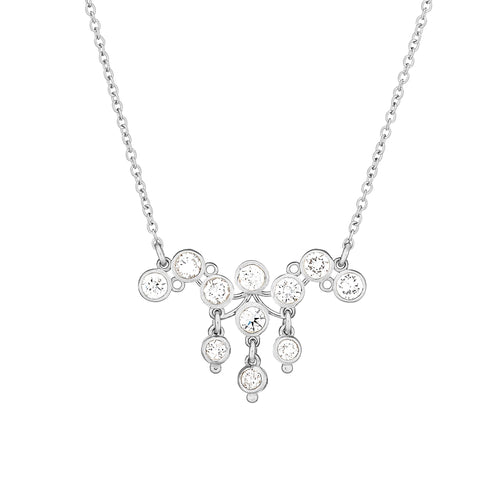 customer designed diamond necklace
