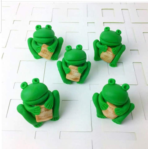 frogs for passover seder