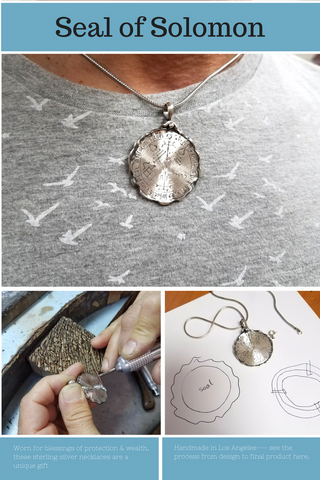 Why We're Wearing a Seal of Solomon Necklace – Alef Bet Jewelry by Paula