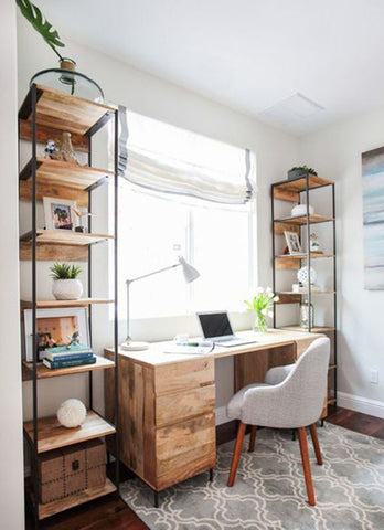 How To Set Up A Home Office In A Pinch Alef Bet By Paula