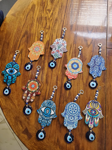 hamsa hand wall decor