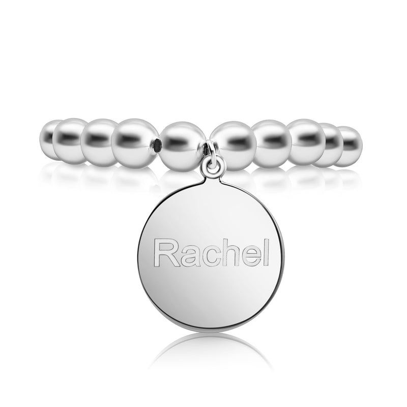 english bead bracelet personalized