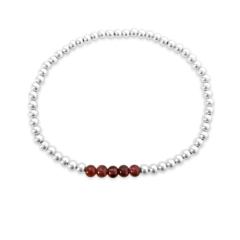 Bead Bracelet and Your Choice of Gemstones