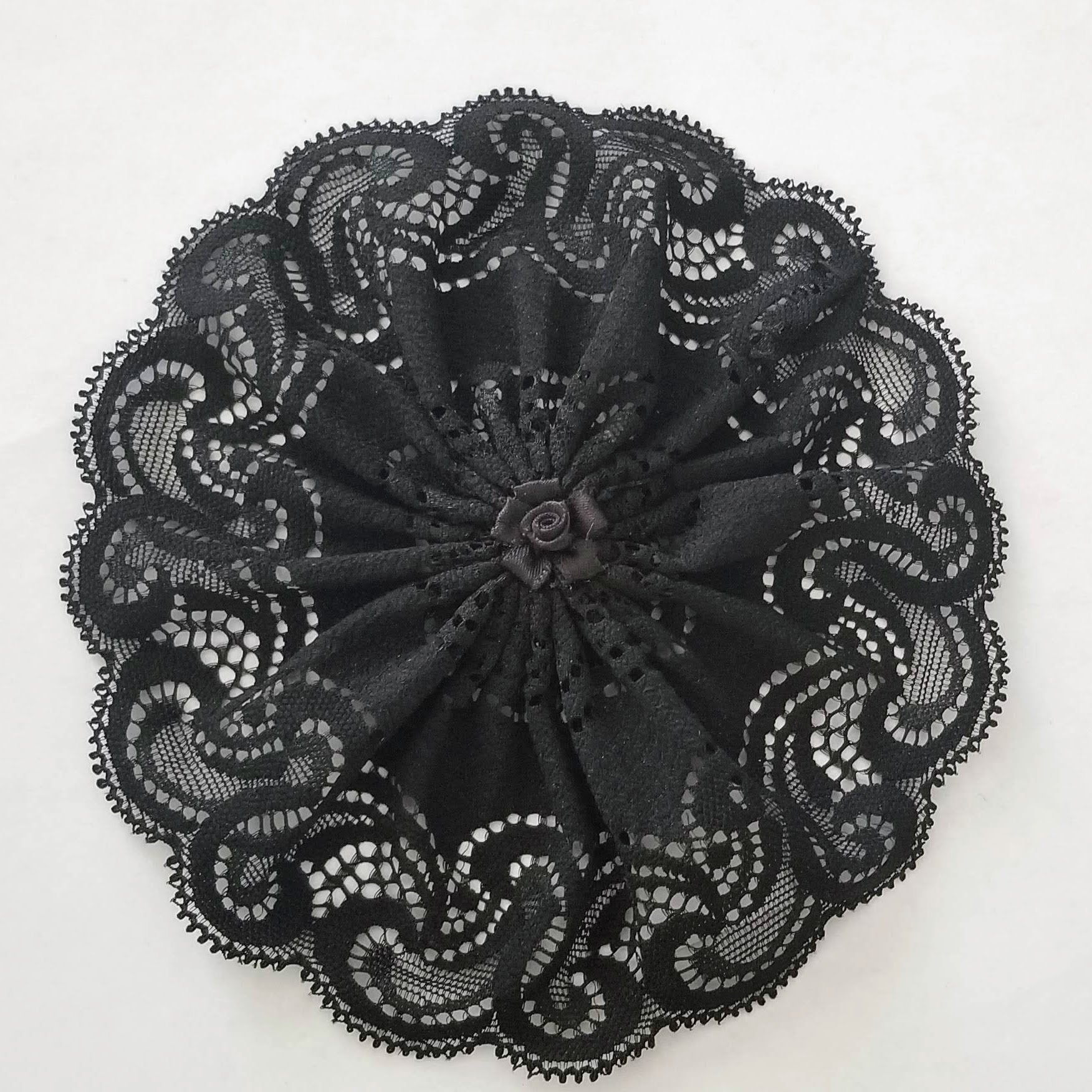 Black Lace Woman's Kippah