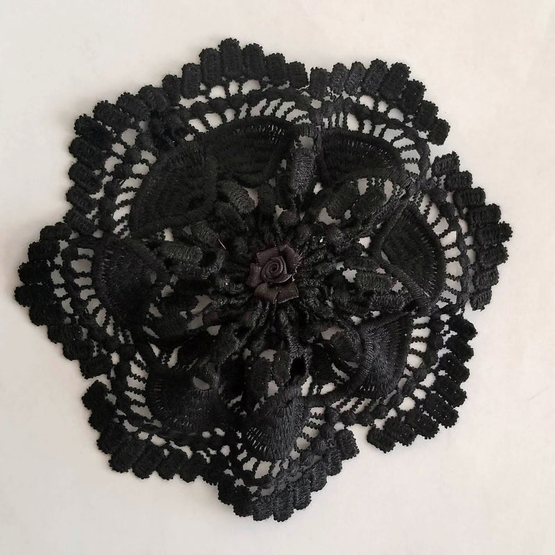 kippah black for women