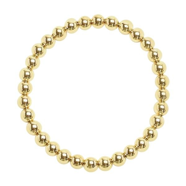 Gold Beaded Bracelets | Assorted Sizes