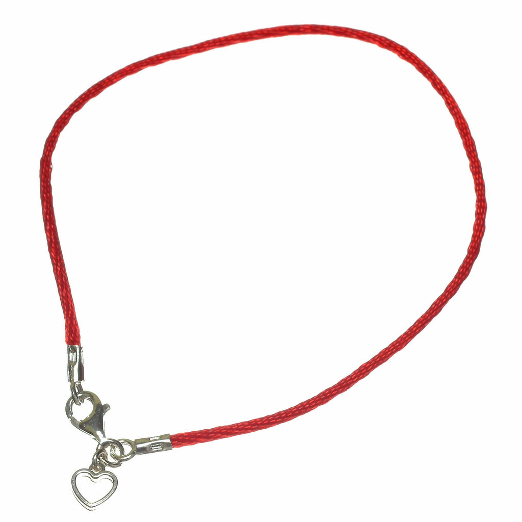 heart red string love bracelet