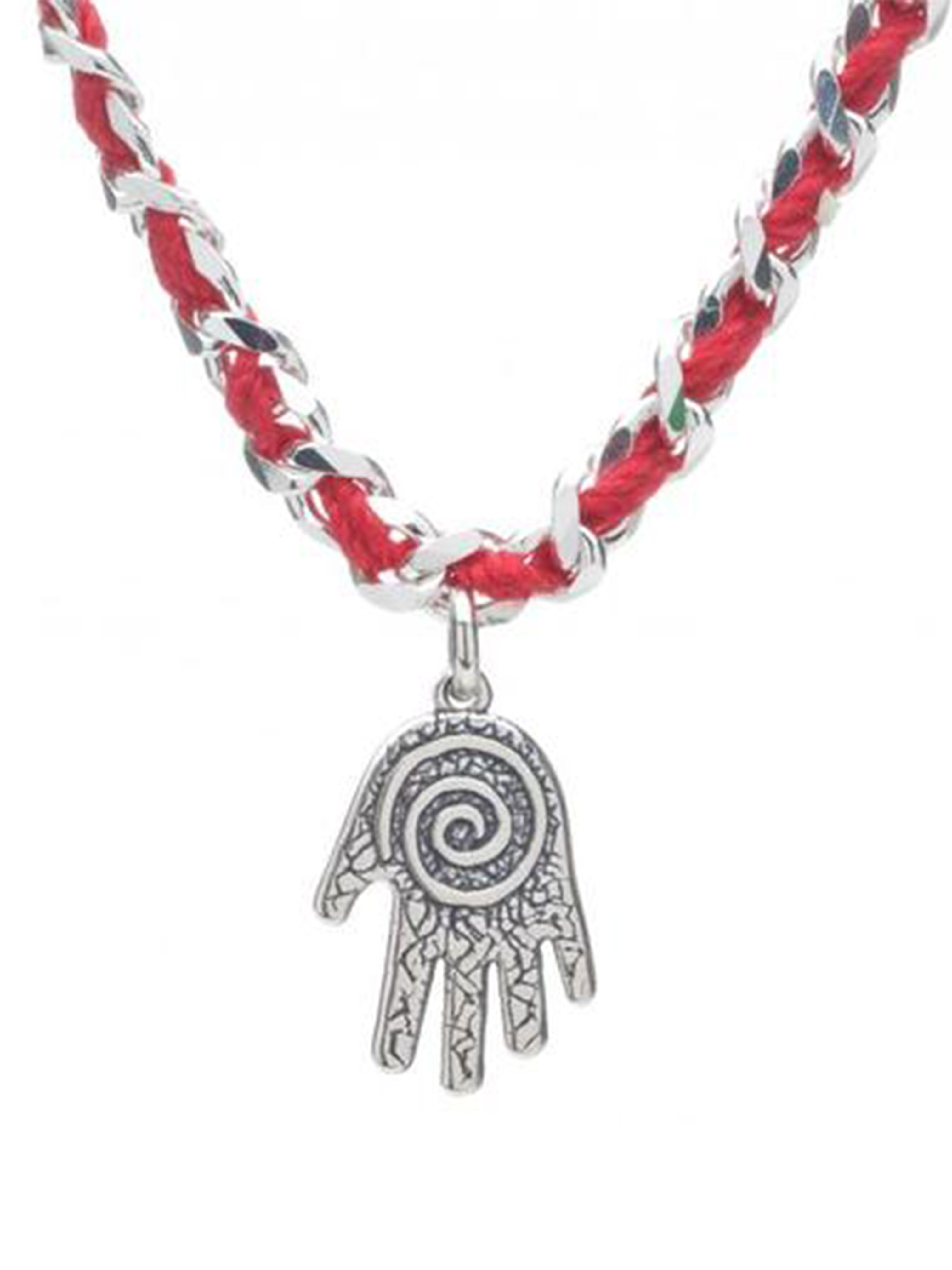Red String Protective Bendel Bracelet with Hamsa