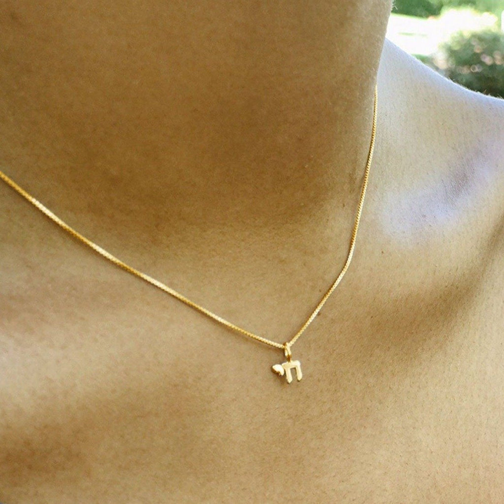 tiny chai necklace