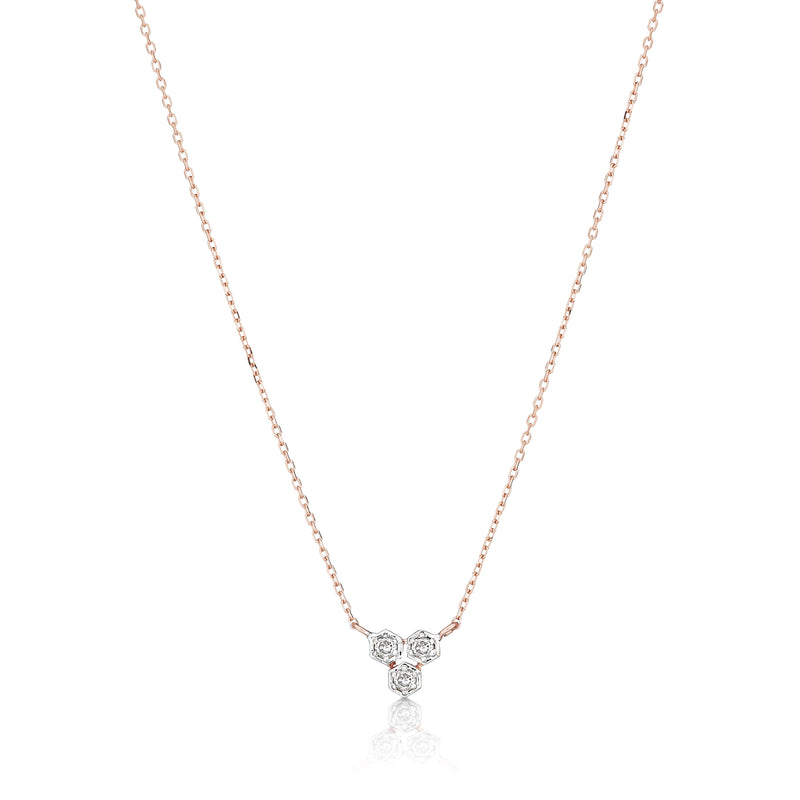 diamond necklace small