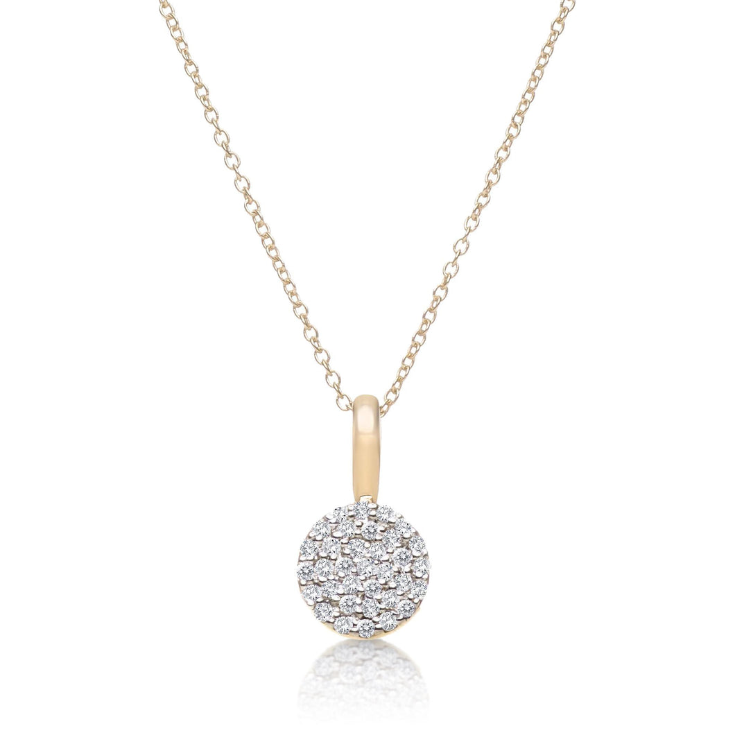 DIAMOND NECKLACE ROUND