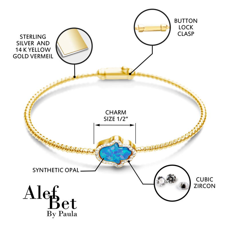 LUCKY BANGLE LAYERING BRACELET