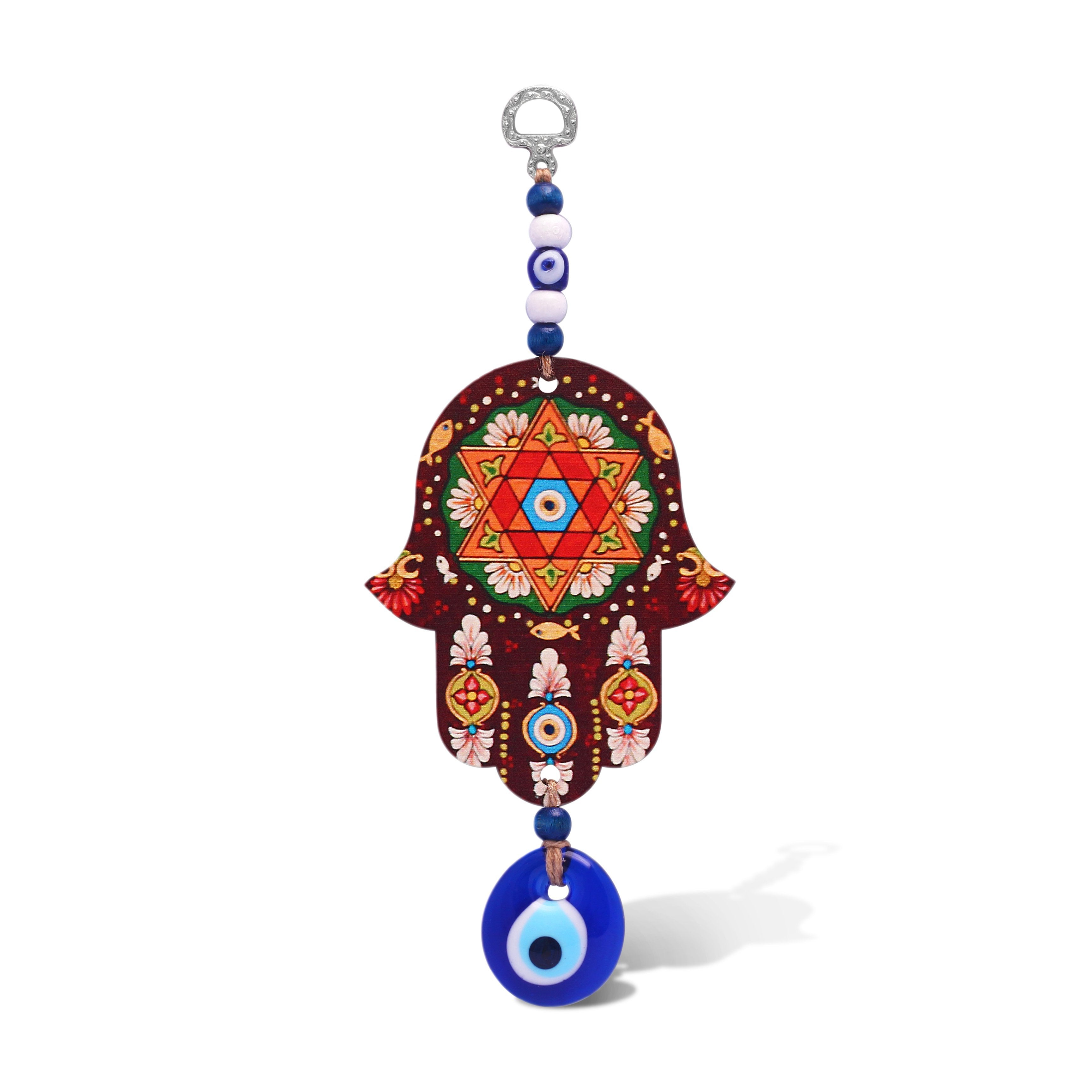 Jewish Star Hamsa Wall Hanging for Your Home
