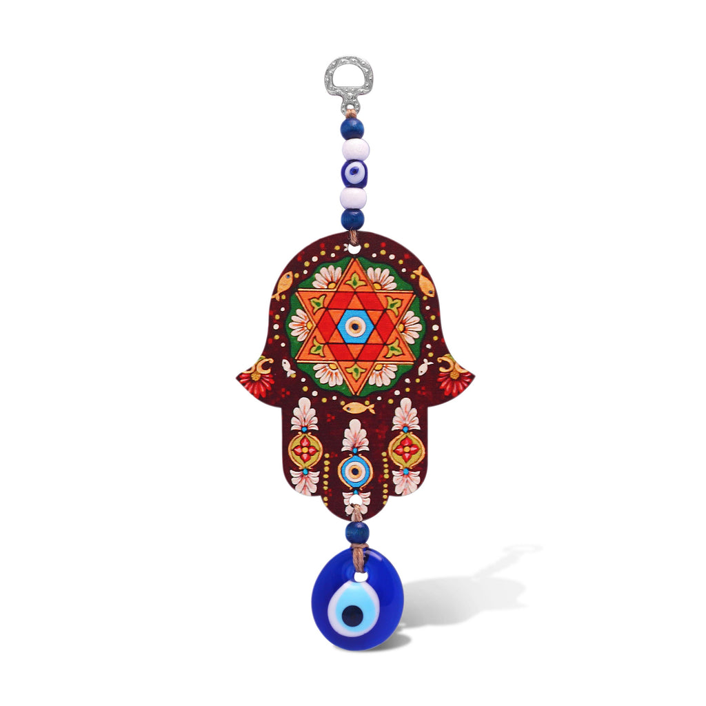 jewish star with hamsa
