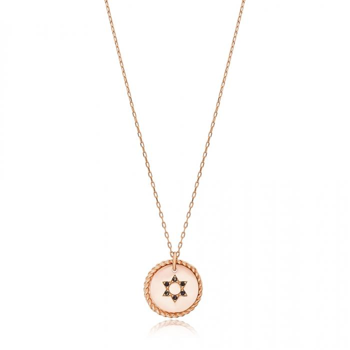 ROSE GOLD STAR NECKLACE