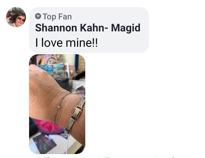 facebook review of star bracelet