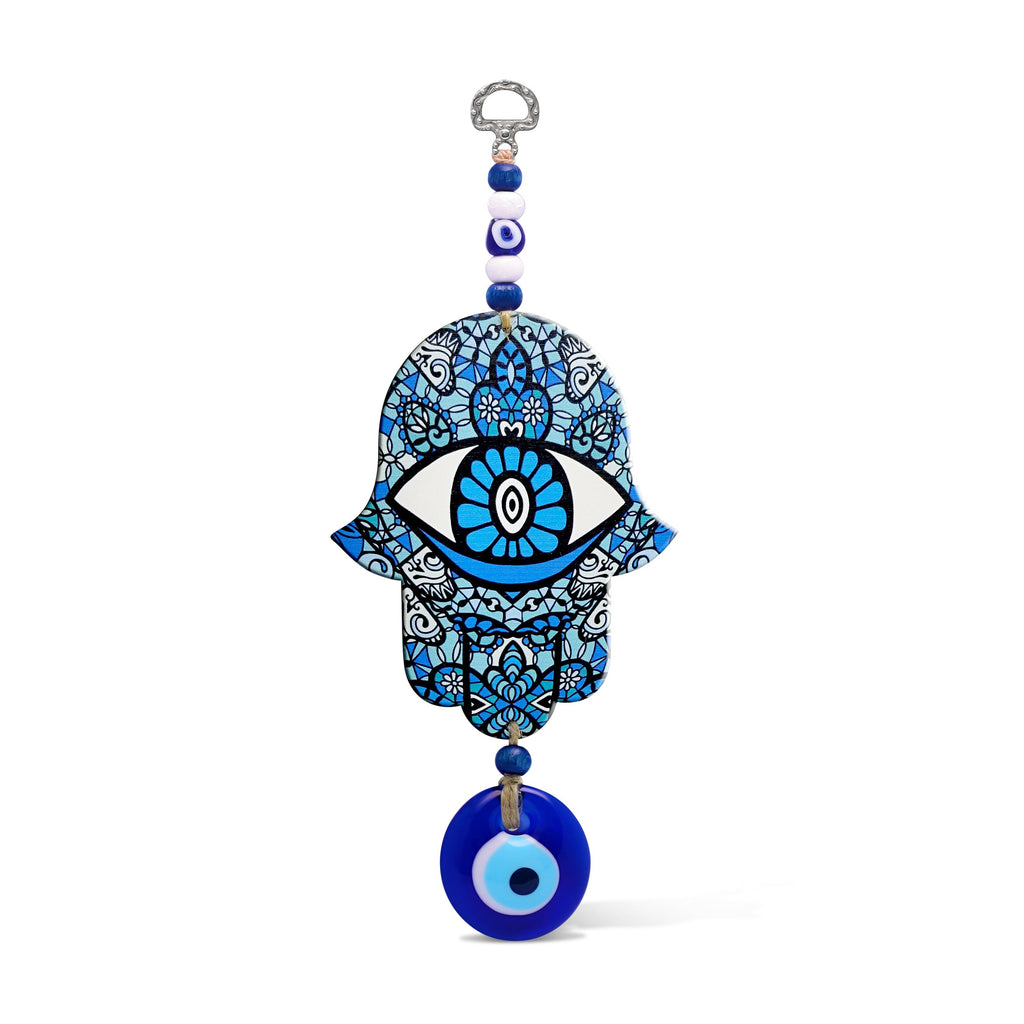 Hamsa Amulet Wall Hanging for Your Home or Office