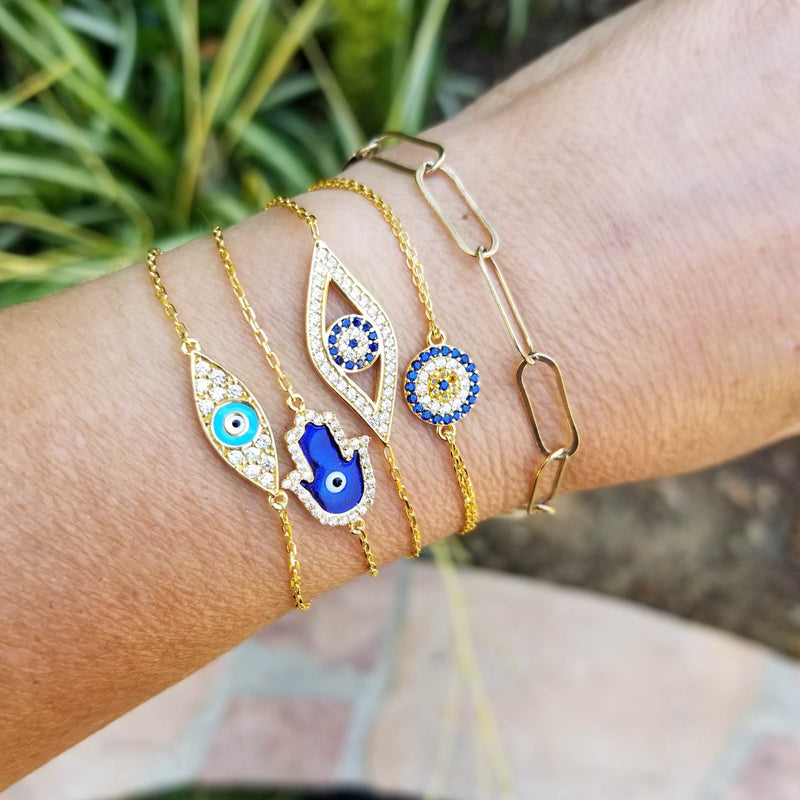 Stunning Evil Eye Bracelet To Watch Over You