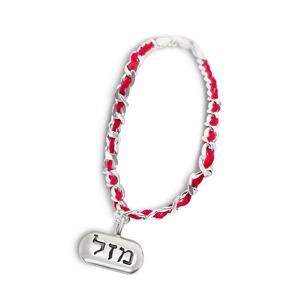 hebrew red string bracelet