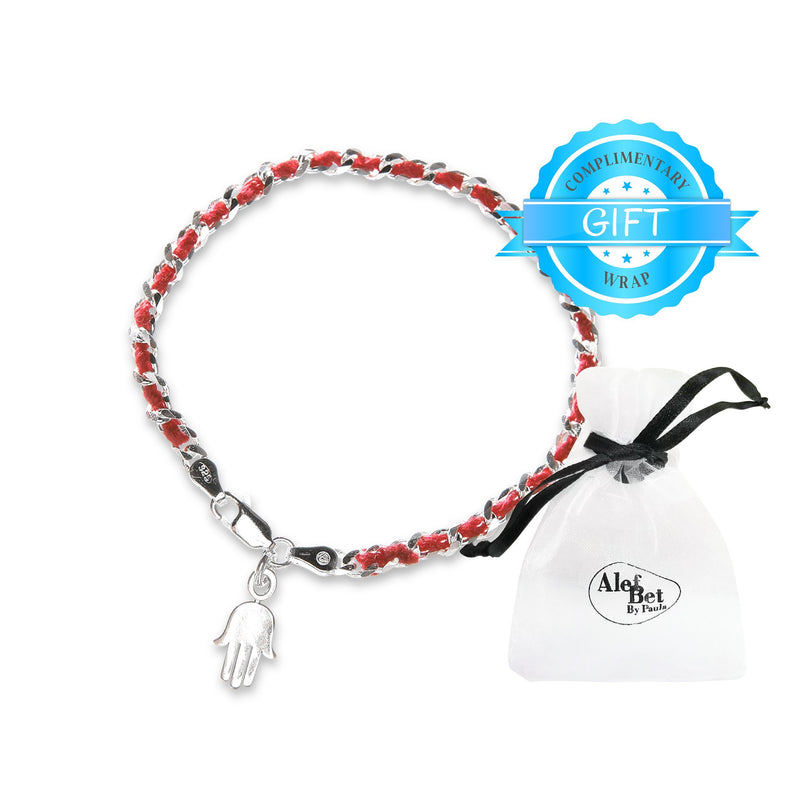 Hamsa Red String Lucky Bendel Bracelet