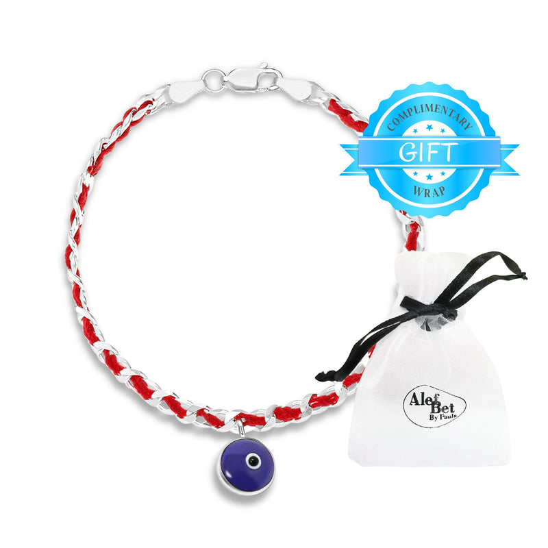 Evil Eye Red String of Fate Bracelet
