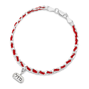 red string mazel luck bracelet