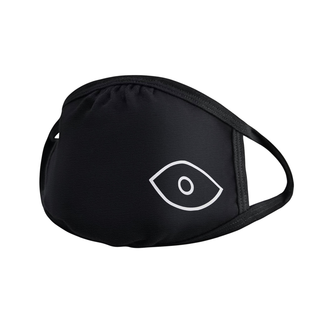 evil eye mask in black