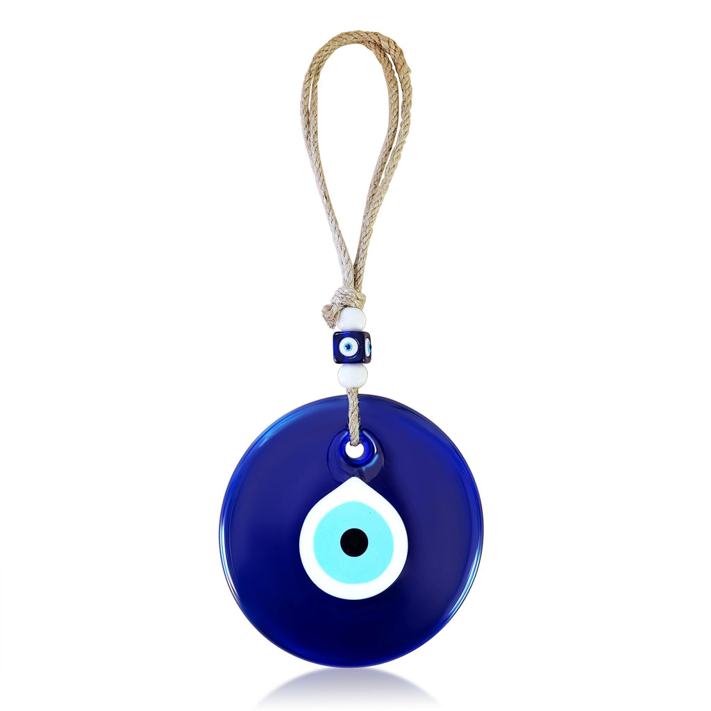 Blue Evil Eye Wall Hanging for Home