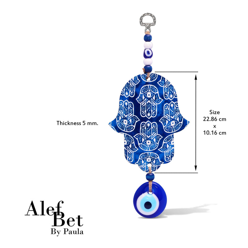Blue Beautiful Hamsa Wall Hanging for Your Home