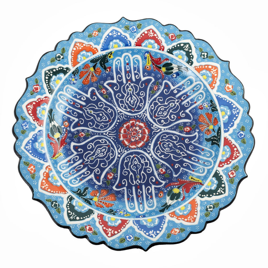 hamsa plate home decoration