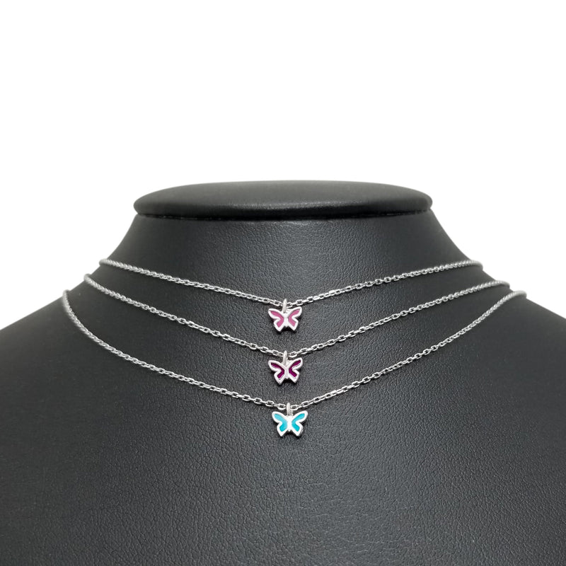 Colorful Butterfly Charms