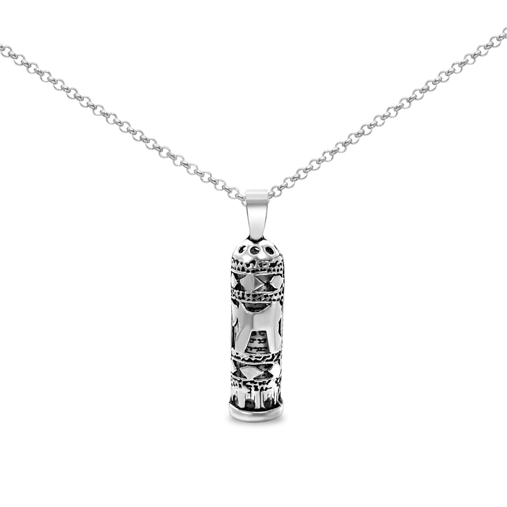 chai necklace mezuzah