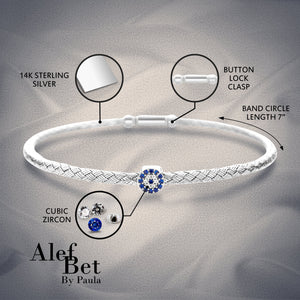 Lucky Eye Bangle Bracelet