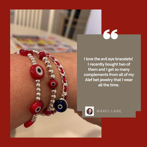 evil eye bracelet red string of fate