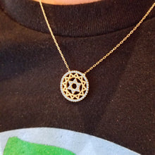 Intricate Star of David Necklace for bat mitzvah gift