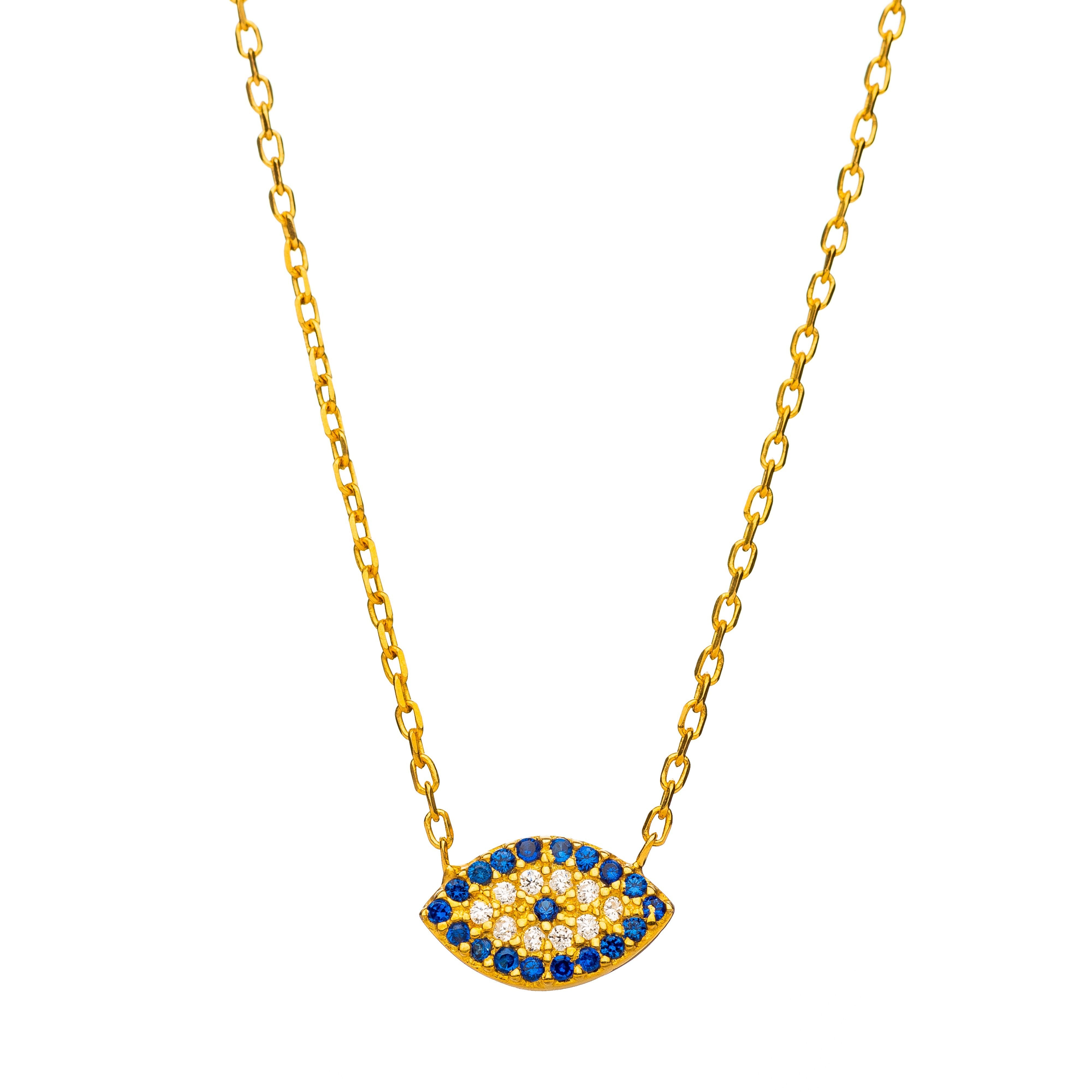 Evil Eye Necklace-- Mal De Ojo