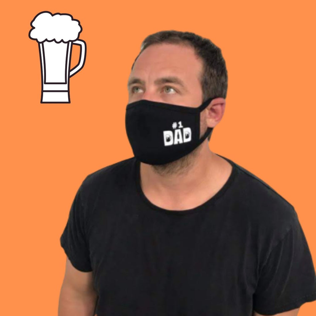 dad mask beer father day