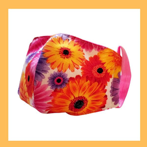 floral mask for women