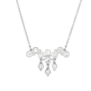 Cluster of Diamond Necklace