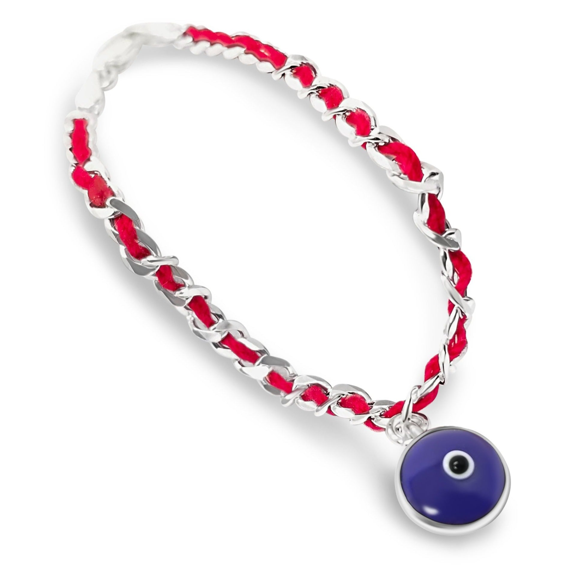 Eye Red String Bendel Bracelet